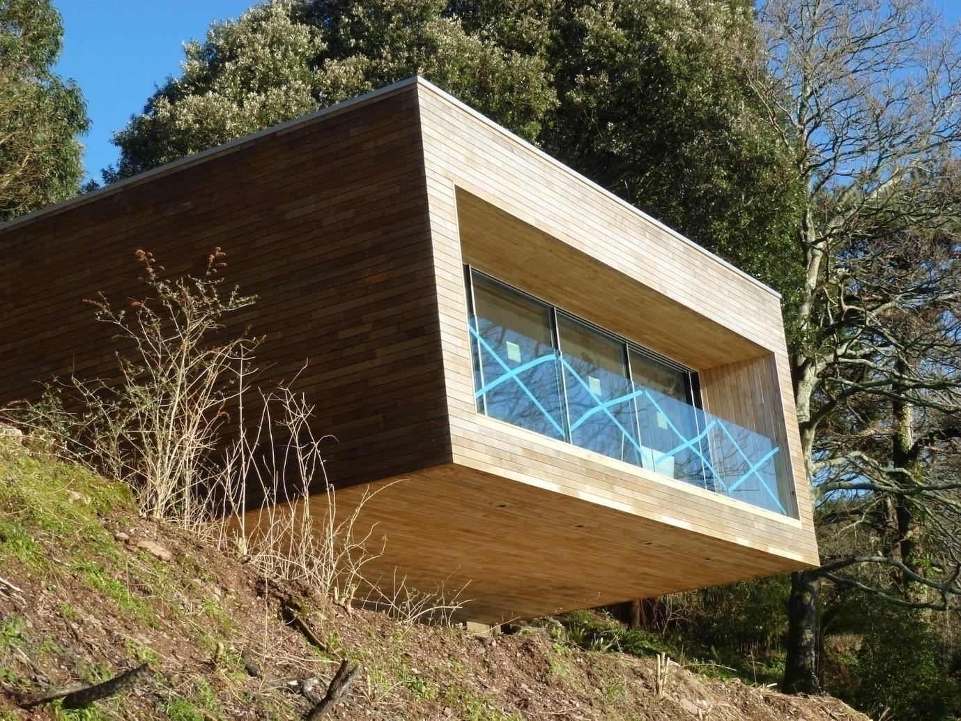 Sea Cliff house, Devonshire